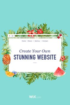 Create your own free website with Wix, the easiest way to build and design a Website. Design your own website and go live today!