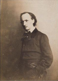 Charles Baudelaire by Nadar.  My favourite poet: after almost 15 years of reading, Baudelaire still leaves me speechless.  Can't pick a book.