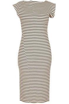 Eco-friendly Stripe Twist dress by Study. Made in the U.S.A.
