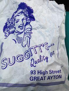 Suggitt's sweet shop in Great Ayton