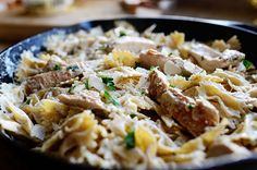 Skillet Chicken Alfredo - Pioneer Woman