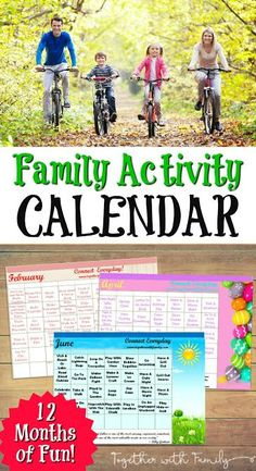 My Family Activity Calendar helps you be more intentional in your parenting by giving you activities that are simple, but intentional to do together.
