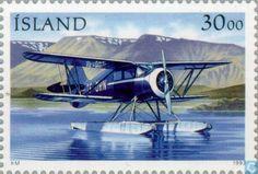 Iceland - Aircraft heading 1993