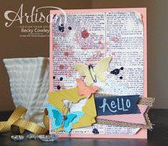scrap junkie: Artisan Wednesday Wow *Butterfly Bundle*