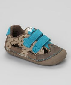 Take a look at this Blue Cookie Monster Sneaker by Stride Rite on #zulily today! #fall