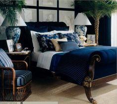 Asian-inspired bedroom