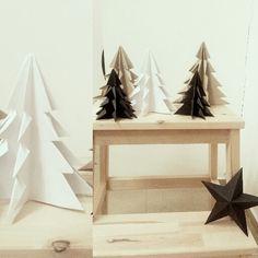 Diy christmas paper tree