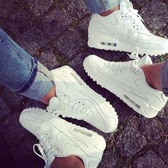 Nike Air Max Dope Trainers Sneakers Footwear White Denim Jeans Fashion