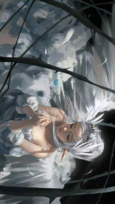 Fantasy Art Women, Dark Fantasy Art, Fantasy Artwork, Dark Anime Girl, Anime Girl Cute, Dark Art Illustrations, Illustration Art, Evil Anime, Fantasy Model