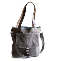 Tote no.1 in brown