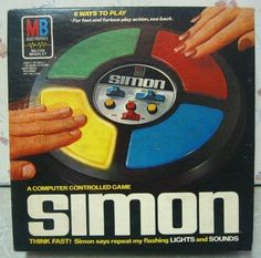 My appartment was a happening place in the early 80's because we had a Simon game!