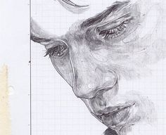 Image in Arte collection by on We Heart It Pencil Art Drawings, Art Drawings Sketches, Guy Drawing, Painting & Drawing, Illusion Kunst, Art Hoe, Pretty Art, Art Plastique, Art Sketchbook