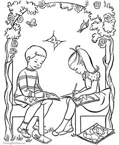 Valentines Day Coloring Pages - 022