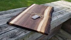 walnut stove cover noodle board! cutting board charcuterie board centerpiece Huge live edge