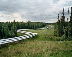 Edward Burtynsky - Oil fields #22 - Cold Lake, Aberta, Canada