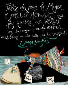 Nerina Canzi Ilustraciones: 8 DE MARZO - DÍA DE LA MUJER
