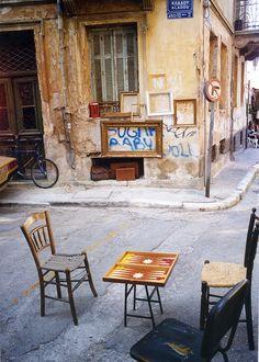 Monastiraki, the old town of Athens, Greece