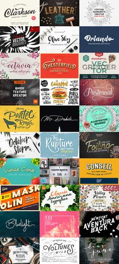 The Exceptional Design Bundle (1300+ Quality Resources) | Resources | Graphic Design Junction #graphicbundle #fonts #brushes #textures #vintage #vectorgraphics #watercolorbrushes