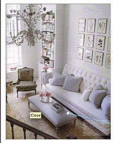 lovely living room #Sarah Richardson