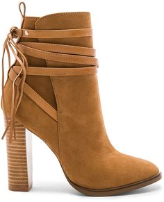Shop for Steve Madden Gaybel Bootie in Tan Nubuck at REVOLVE. Nude Boots, High Heel Boots, Bootie Boots, High Heels, Ankle Booties, Fall Shoes, Winter Shoes, Cute Shoes, On Shoes