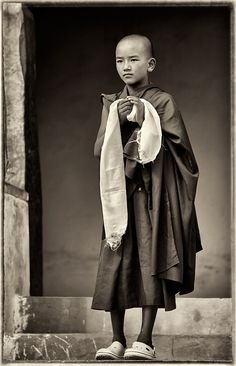 Monk, Kashmir, India