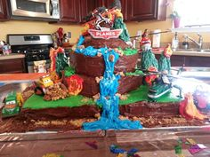 Planes Fire and Rescue Birthday Cake by Crystal Johnson