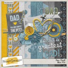 Hey Dad! Happy Father's Day {Freebie}