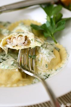 Once you follow the tutorial to make homemade pasta, it's easy to go ahead and make stuffed pastas!