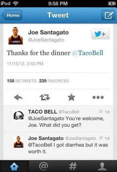Joe is right
