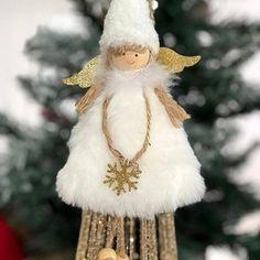 Christmas Angel Ornaments, Xmas Tree, Christmas Tree Decorations, In Remembrance Of Me, Handmade Angels, Comfort And Joy, White Snowflake, Handmade Christmas, Victorian Christmas