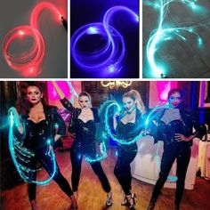 Quadruple LED Fiber Optic Flashlight Whip 360 Degree Twirling Nightclub Stage Multicolor Flashing Torch Leather Whip Props Gifts  Price: 1268.90 & FREE Shipping #computers #shopping #electronics #home #garden #LED #mobiles #rc #security #toys #bargain #coolstuff  #headphones #bluetooth #gifts #xmas #happybirthday #fun Leather Whip, Fiber Optic Cable, Novelty Lighting, Fibre Material, Car Bluetooth, Flashlight, Night Club, Happy Birthday, Led