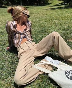Retro Outfits, Cute Casual Outfits, Hippie Outfits, Mode Grunge Hipster, 40s Mode, Mode Swag, Look Fashion, Fashion Outfits, Looks Pinterest