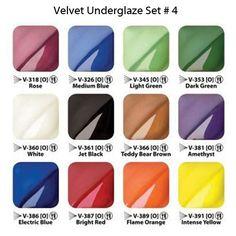 Velvet Underglazes are very versatile, semi-transparent underglazes that offer…