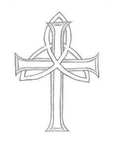 Trinity Cross Tattoo
