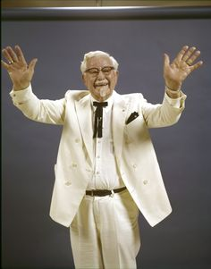 10 Previously Unpublished Photos Of The REAL Colonel Sanders