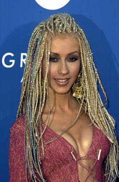12 Celebrity White Women with Braids and Cornrows - Christina Aguilera with Lon. - 12 Celebrity White Women with Braids and Cornrows - Christina Aguilera with Long, Artificial Braids - - Twist Braid Hairstyles, 90s Hairstyles, Trending Hairstyles, Twist Braids, Celebrity Hairstyles, Braids Easy, Elegant Hairstyles, Black Hairstyles, Natural Hairstyles