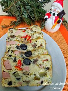 chec aperitiv Vegetable Pizza, Good Food, Cooking Recipes, Vegetables, Breakfast, Salads, Red Peppers, Morning Coffee