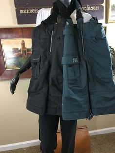 Obermeyer I Grow Bib overalls snow ski pants Kids Size 3 Charcoal Grey Or Teal  | eBay