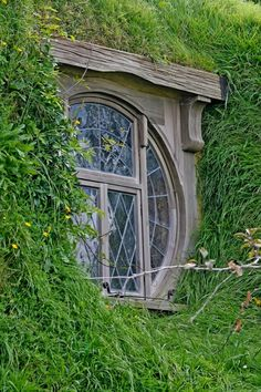 A Hobbit window