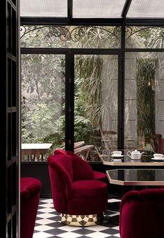 3 Certain Clever Ideas: Dining Furniture Makeover Design Studios outdoor dining furniture small spaces. Luxury Restaurant, Restaurant Interior Design, Cafe Interior, Luxury Interior Design, Interior Design Inspiration, Restaurant Lighting, Interior Decorating, Decorating Ideas, Design Hotel