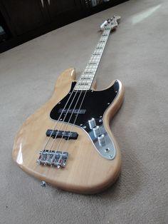 My Squier bass guitar