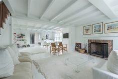 Open House: Saturday, 10/3 from 1:00 to 2:30 at 8 Fresh Pond Rd, Sag Harbor, $3,250,000. Original Terry-Cook house built in the early 1800's has been masterfully renovated and expanded creating the most unique and charming, yet spacious, 4 bedroom, 3.5 bath house with water views. Call Tracy Annacone, RE Salesperson, 516.885.5561 for details. #openhouse #luxuryrealestate #ceilingbeams #livingroom #interiors #homeselling #homegoals #homebuyers #realestate #hamptonsrealestate #hamptons…