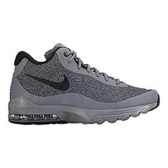 detailed look 743dc 9a782 Nike Air Max Invigor Mid Cool GreyBlackGreen Glow Mens Cross Training Shoes  -- You can