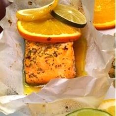 """Citrus Salmon in Parchment   """"Just tried this tonight and it was DELICIOUS!!! Thanks for this simple but excellent recipe."""""""