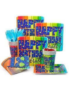Celebrating life's big events is easy with our party themes, free party ideas & supplies shipped right to your door! Daddy Birthday, Happy 50th Birthday, 18th Birthday Party, Birthday Box, 18 Birthday Party Decorations, Adult Party Themes, Mad Men Party, Milestone Birthdays, Party Supplies