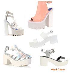 About Colours: Trend Alert: sandalo con suola zigrinata