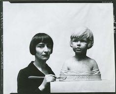Brenda Putnam, American sculptor, 1890-1975 (Photographer: Peter A. Juley Son)