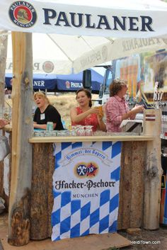 #Paulaner #beer is being served at the #Biergarten Festival in Morrison. #Colorado biergartenfest.com