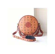 Auth MCM Visetos Cognac Tambourine shoulder cross-body handbag vintage brown purse rare by hfvin on Etsy  #mcm #visetos #cognac #tambourine #shoulderbag #hfvin