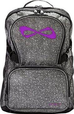 Addi...Nfinity Backpack with Logo, Sparkle Grey/Violet